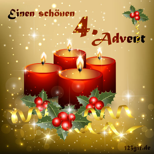 kostenlose 4 advent bilder gifs grafiken cliparts. Black Bedroom Furniture Sets. Home Design Ideas