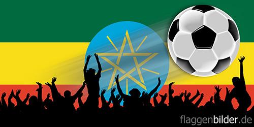 aethiopien_fussball-fans.jpg von 123gif.de Download & Grußkartenversand