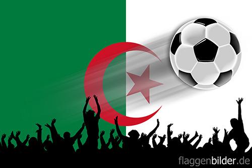 algerien_fussball-fans.jpg von 123gif.de Download & Grußkartenversand
