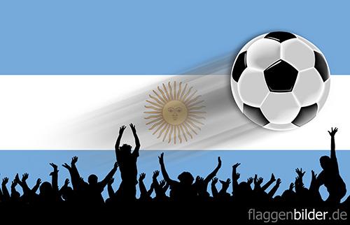 argentinien_fussball-fans.jpg von 123gif.de Download & Grußkartenversand