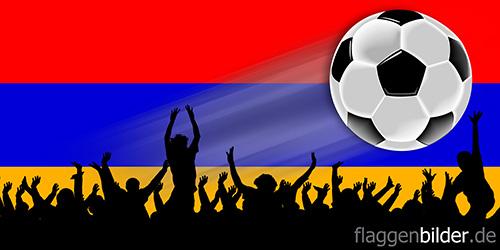 armenien_fussball-fans.jpg von 123gif.de Download & Grußkartenversand