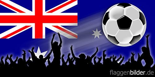 australien_fussball-fans.jpg von 123gif.de Download & Grußkartenversand