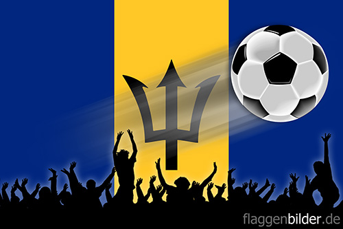 barbados_fussball-fans.jpg von 123gif.de Download & Grußkartenversand