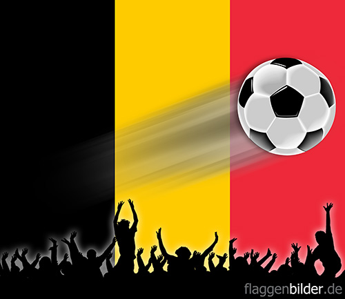 belgien_fussball-fans.jpg von 123gif.de Download & Grußkartenversand