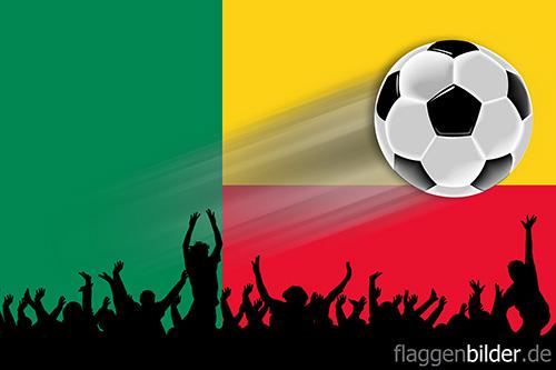 benin_fussball-fans.jpg von 123gif.de Download & Grußkartenversand