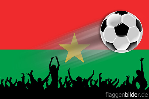 burkina_faso_fussball-fans.jpg von 123gif.de Download & Grußkartenversand