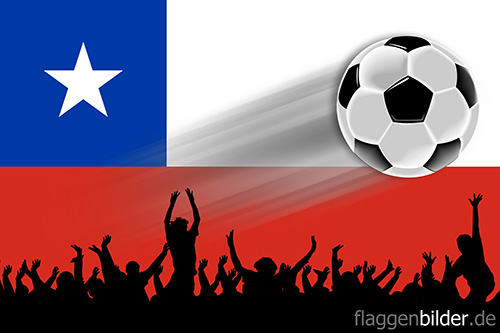 chile_fussball-fans.jpg von 123gif.de Download & Grußkartenversand