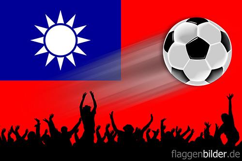 china_republik_fussball-fans.jpg von 123gif.de Download & Grußkartenversand