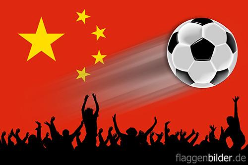 china_volksrepublik_fussball-fans.jpg von 123gif.de Download & Grußkartenversand