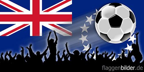 cookinseln_fussball-fans.jpg von 123gif.de Download & Grußkartenversand