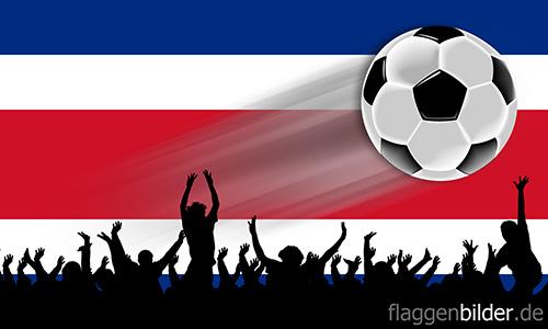 costa_rica_fussball-fans.jpg von 123gif.de Download & Grußkartenversand