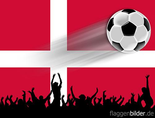 daenemark_fussball-fans.jpg von 123gif.de Download & Grußkartenversand