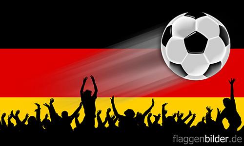 deutschland_fussball-fans.jpg von 123gif.de Download & Grußkartenversand
