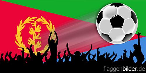 eritrea_fussball-fans.jpg von 123gif.de Download & Grußkartenversand