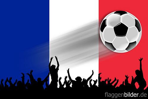 frankreich_fussball-fans.jpg von 123gif.de Download & Grußkartenversand