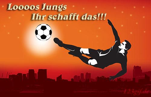 fussball-0133.jpg von 123gif.de Download & Grußkartenversand
