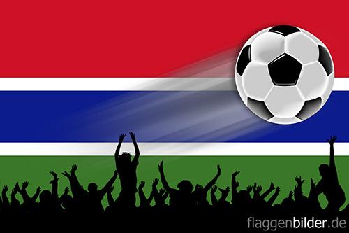 gambia_fussball-fans.jpg von 123gif.de Download & Grußkartenversand