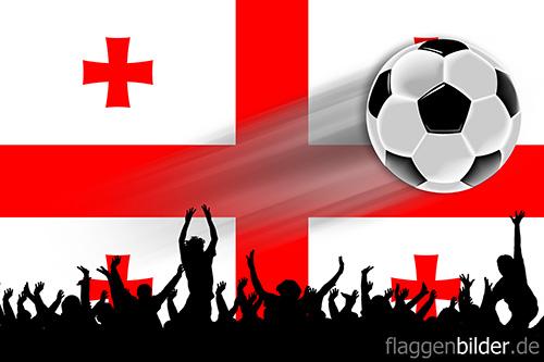 georgien_fussball-fans.jpg von 123gif.de Download & Grußkartenversand