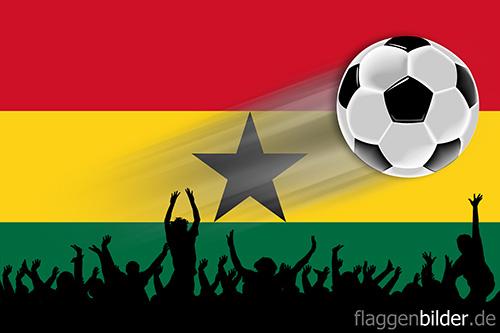ghana_fussball-fans.jpg von 123gif.de Download & Grußkartenversand