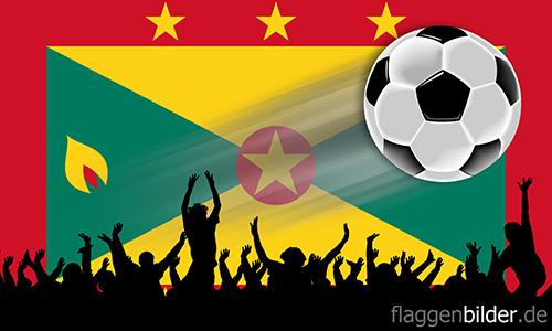 grenada_fussball-fans.jpg von 123gif.de Download & Grußkartenversand