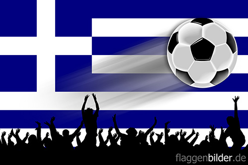 griechenland_fussball-fans.jpg von 123gif.de Download & Grußkartenversand