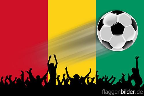guinea_fussball-fans.jpg von 123gif.de Download & Grußkartenversand