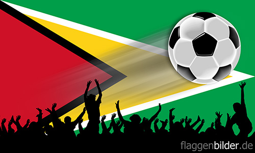 guyana_fussball-fans.jpg von 123gif.de Download & Grußkartenversand