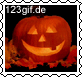 Click to choose stamp Halloween K�rbis