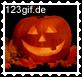 Klicken, um Briefmarke Halloween K�rbis auszuwählen
