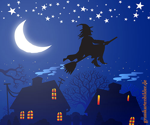 Halloweengrusskarten von 123gif.de