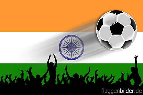 indien_fussball-fans.jpg von 123gif.de Download & Grußkartenversand