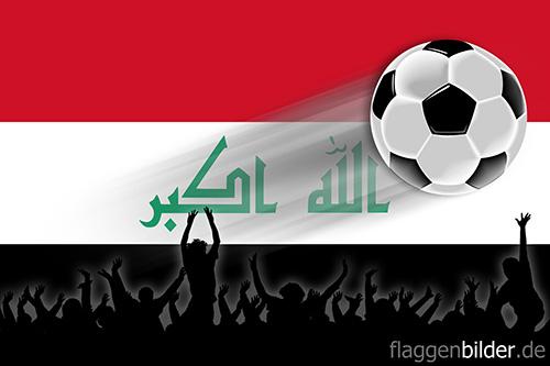 irak_fussball-fans.jpg von 123gif.de Download & Grußkartenversand