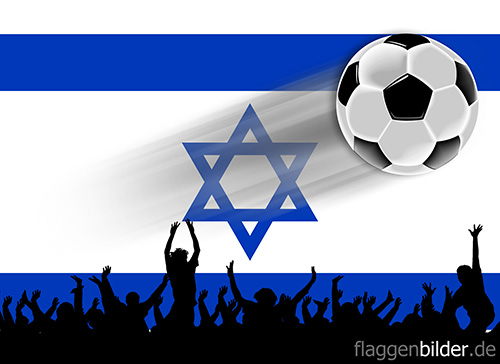 israel_fussball-fans.jpg von 123gif.de Download & Grußkartenversand