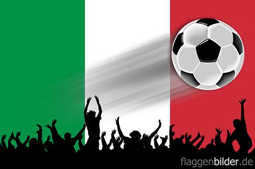 italien_fussball-fans.jpg von 123gif.de Download & Grußkartenversand