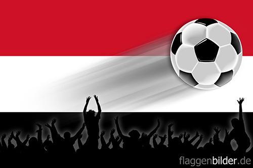 jemen_fussball-fans.jpg von 123gif.de Download & Grußkartenversand