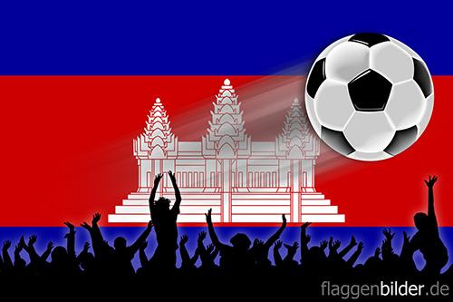 kambodscha_fussball-fans.jpg von 123gif.de Download & Grußkartenversand