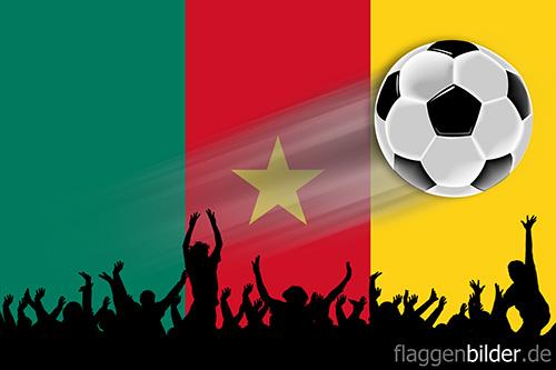 kamerun_fussball-fans.jpg von 123gif.de Download & Grußkartenversand