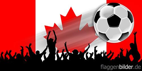 kanada_fussball-fans.jpg von 123gif.de Download & Grußkartenversand