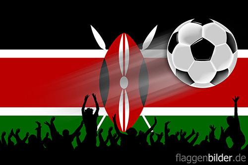 kenia_fussball-fans.jpg von 123gif.de Download & Grußkartenversand
