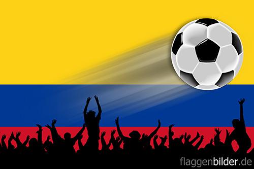 kolumbien_fussball-fans.jpg von 123gif.de Download & Grußkartenversand