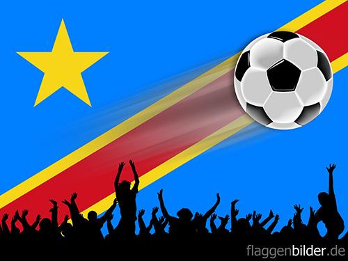 kongo_demokratische_republik_fussball-fans.jpg von 123gif.de Download & Grußkartenversand