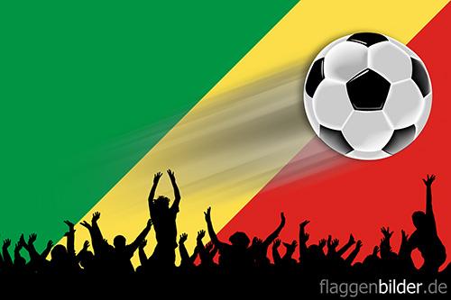 kongo_republik_fussball-fans.jpg von 123gif.de Download & Grußkartenversand