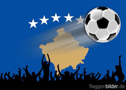 kosovo_fussball-fans.jpg von 123gif.de Download & Grußkartenversand