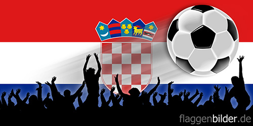 kroatien_fussball-fans.jpg von 123gif.de Download & Grußkartenversand