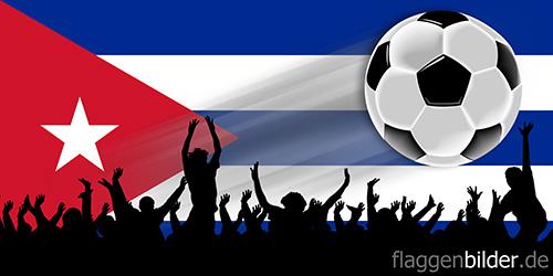 kuba_fussball-fans.jpg von 123gif.de Download & Grußkartenversand