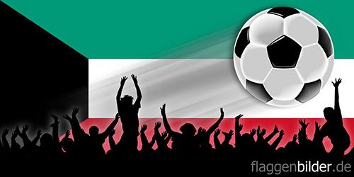 kuwait_fussball-fans.jpg von 123gif.de Download & Grußkartenversand
