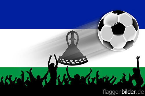 lesotho_fussball-fans.jpg von 123gif.de Download & Grußkartenversand