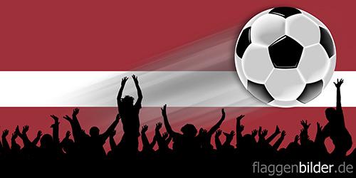 lettland_fussball-fans.jpg von 123gif.de Download & Grußkartenversand