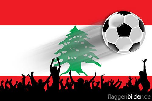 libanon_fussball-fans.jpg von 123gif.de Download & Grußkartenversand