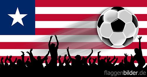 liberia_fussball-fans.jpg von 123gif.de Download & Grußkartenversand